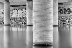 Unter den Brücken von Saarlouis