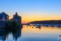 Sonnenuntergang im alten Hafen