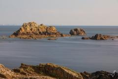 Die Felsen im Atlantik
