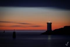 Magische Stunde am Leuchtturm