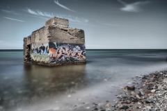 Bunker aus der alten Zeit