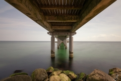 Unter den Brücken an der Ostsee